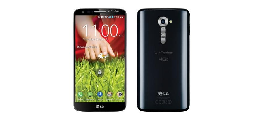 Verizon update for the LG G2