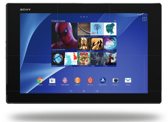 Xperia Z2 Tablet verizon