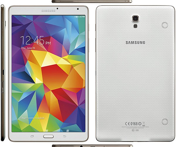 Samsung Galaxy Tab S 8.4 Wi-Fi actualizado a Android 5.0.2 Lollipop