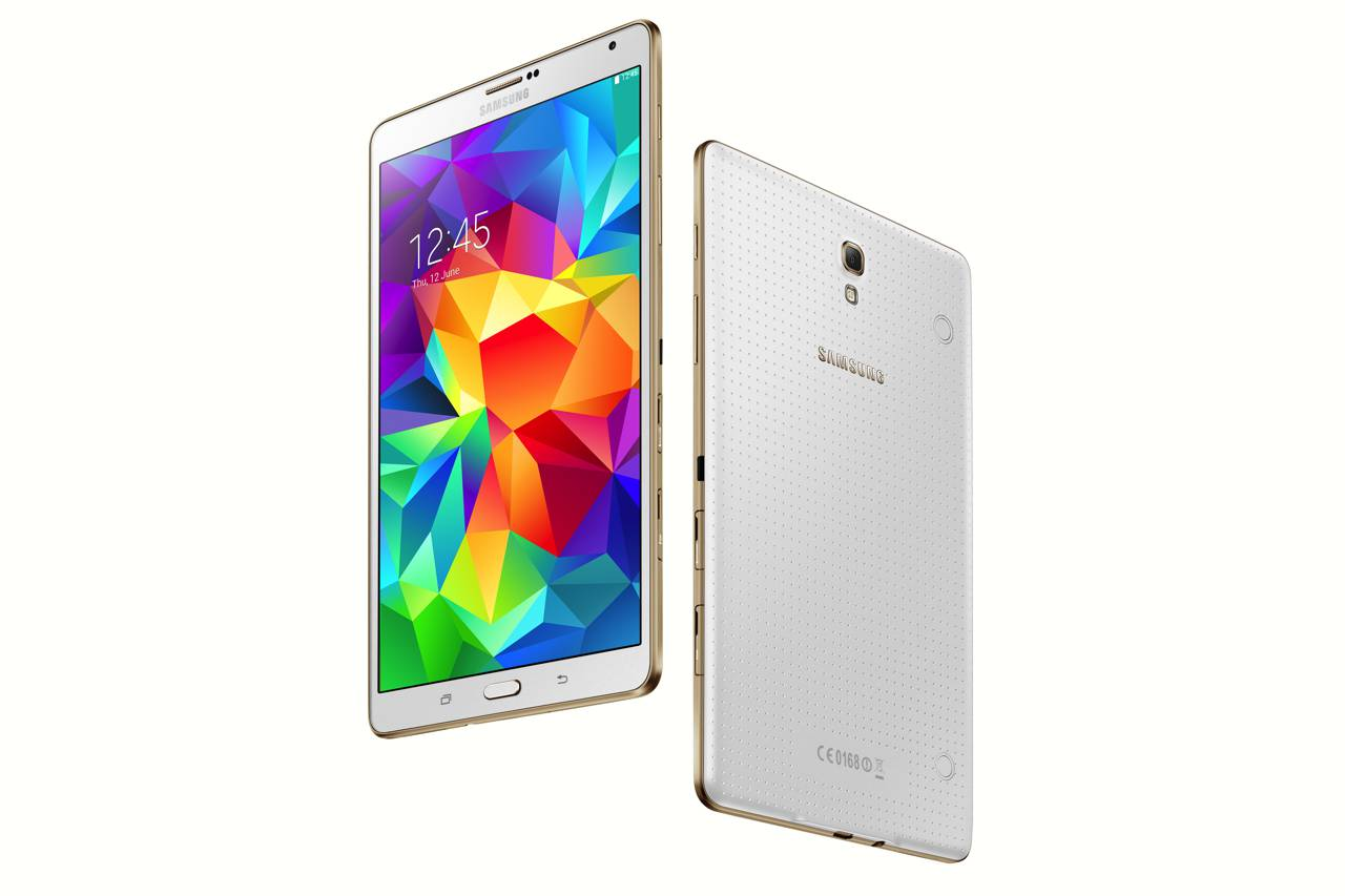 Samsung Galaxy Tab S 8.4 Wi-Fi update to Android 5.0.2 Lollipop 1