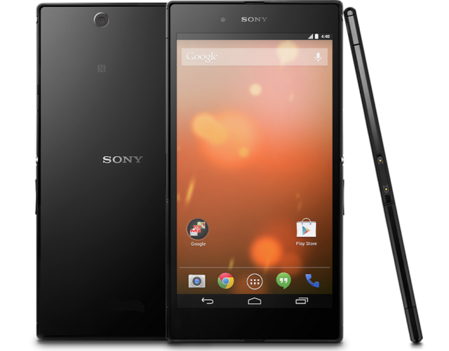 Sony Z Ultra GPE is updated to Android 5.1