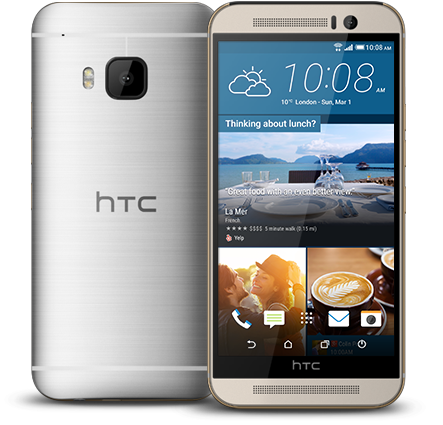 The HTC One M9 receives update to improve the camera 3