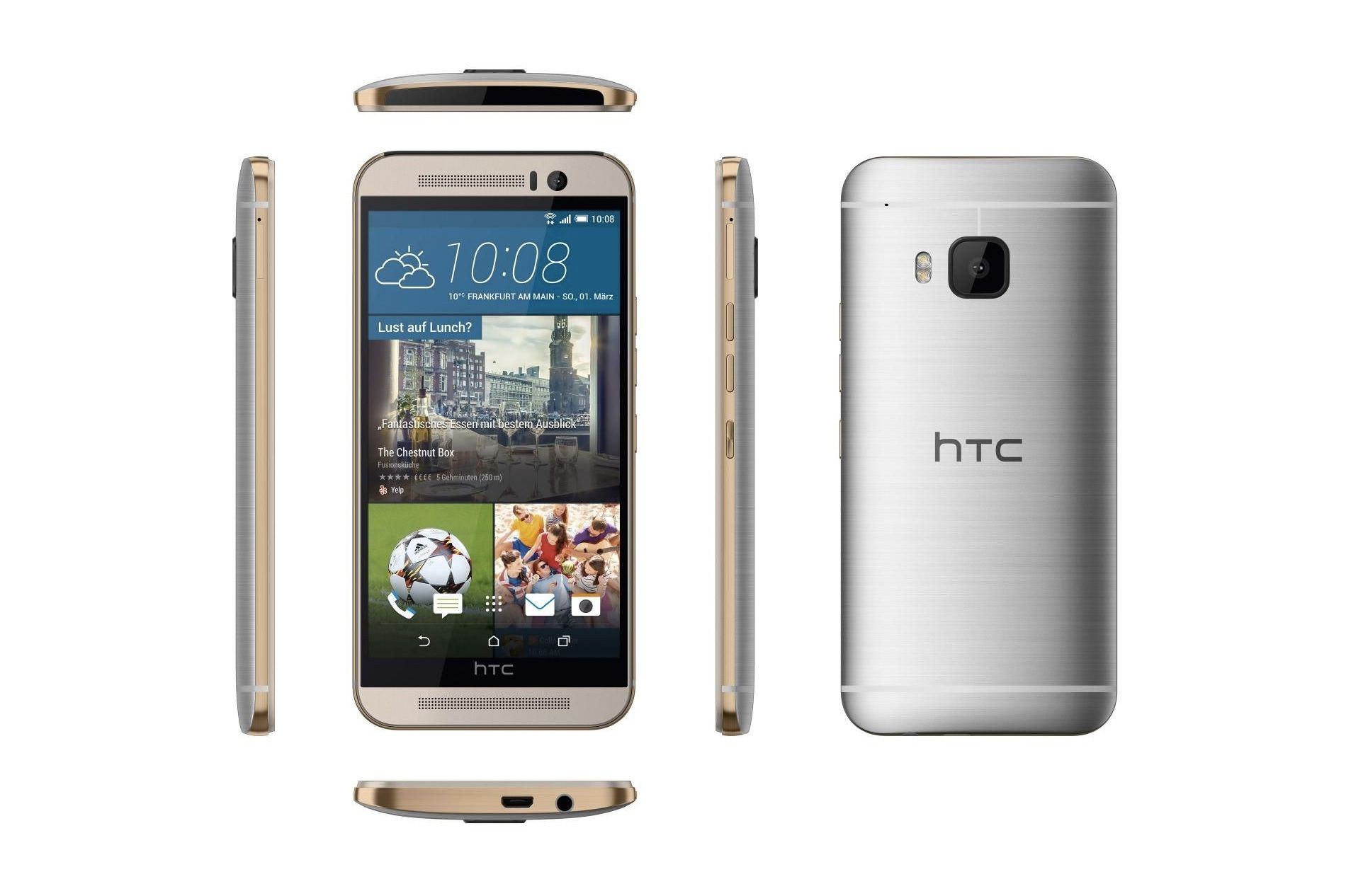 The HTC One M9 receives update to improve the camera 2