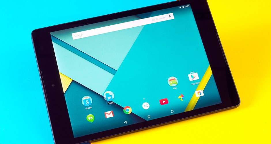 Android 5.1.1 Lollipop por fin disponible en Nexus 9