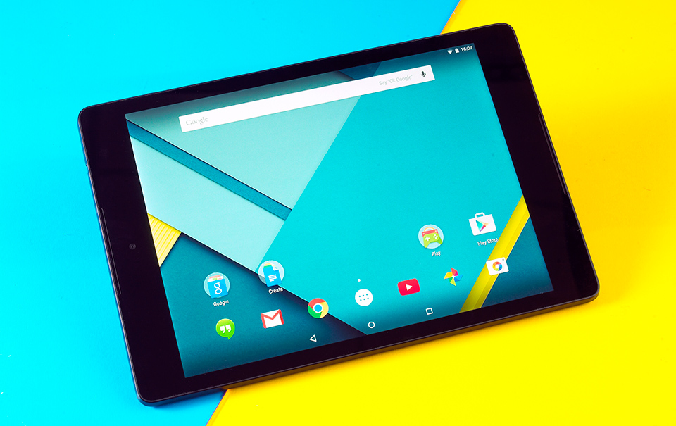 Android 5.1.1 Lollipop por fin disponible en Nexus 9 4