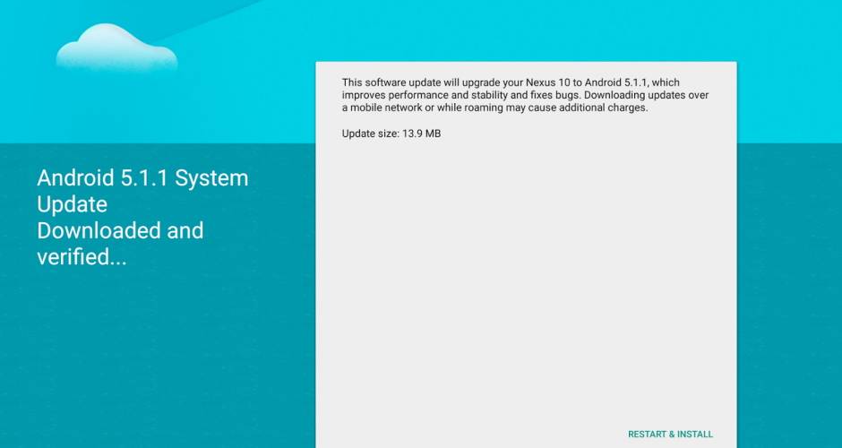 Android 5.1.1 factory images for Nexus 7 and 10 now available