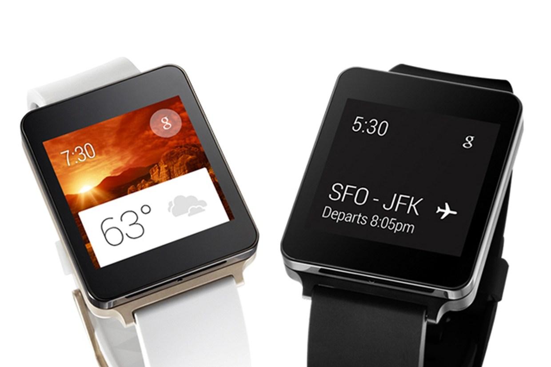 Android Wear 5.1.1 ya está presente en LG G Watch y LG G Watch R 1
