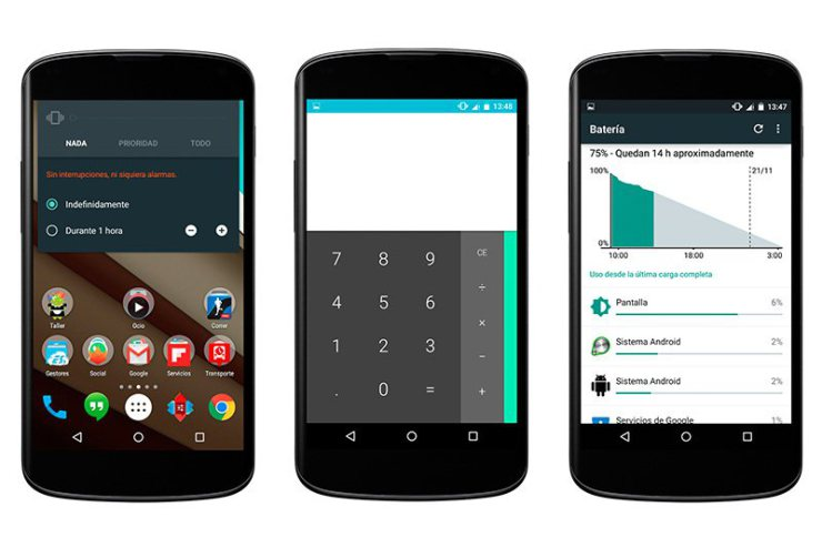 Imagen de fábrica de Android 5.1.1 Lollipop para Nexus 4, Nexus 5 y Nexus 7 ya disponible 1
