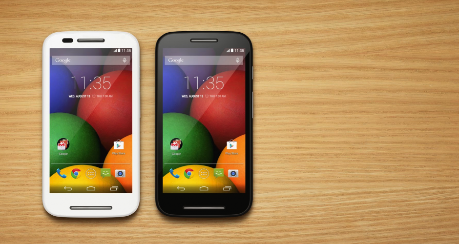 Motorola Moto E LTE updated to Android 5.1 Lollipop