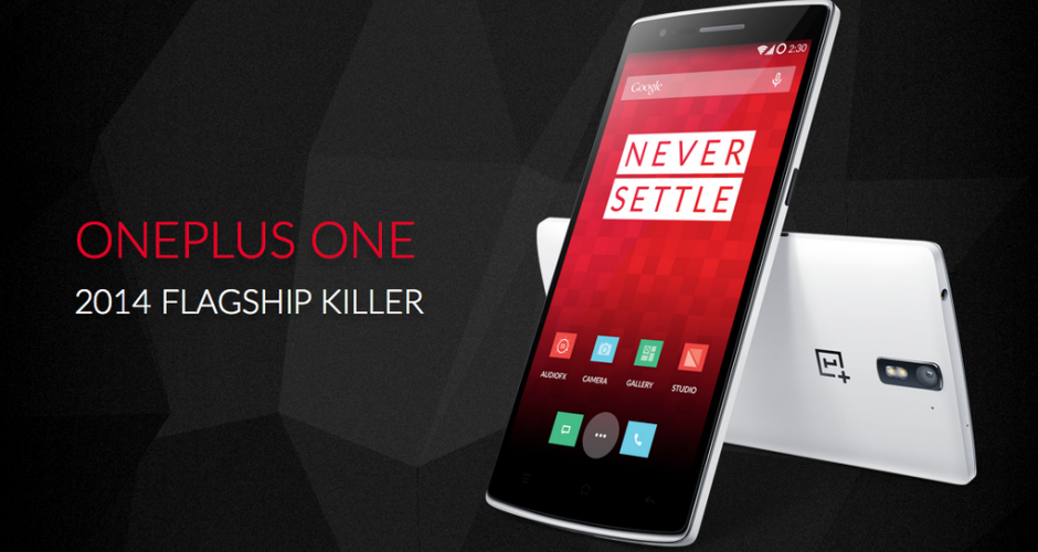 OnePlus One recognized the problem of multi-touch screen and solve it with firmware update