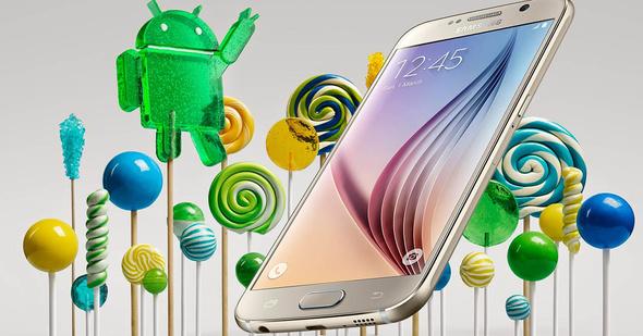 Android 5.1.1 Lollipop chega aos Samsung Galaxy S6 e S6 Edge de Europa