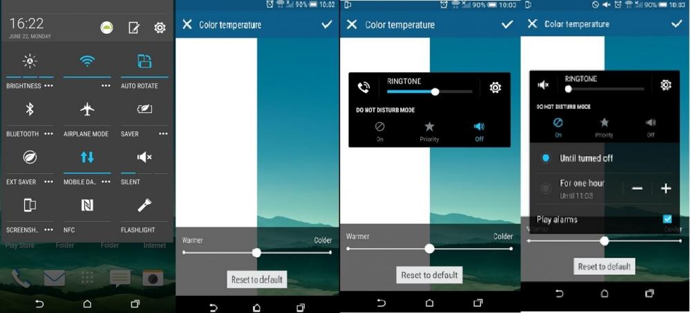 Imagens filtradas do HTC One M9 mostram uma atualização para o Android 5.1 1