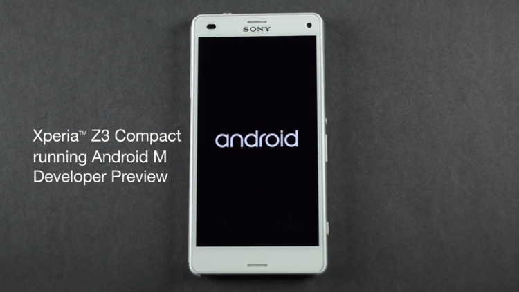Sony works to take forward the update to Android M on Xperia devices (Video)