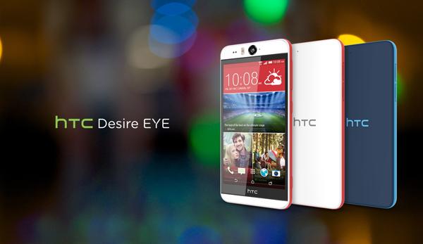 HTC Desire Eye está recibiendo actualización a 5.0.x Lollipop hoy