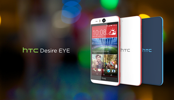 HTC Desire Eye is receiving 5.0.x Lollipop update today