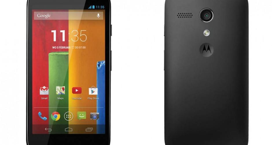 La segunda generación del Motorola Moto G comienza a recibir Android 5.1 Lollipop