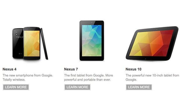 Nexus 4, Nexus 10 e Nexus 7 (2012) provávelmente não vão receber Android M 1