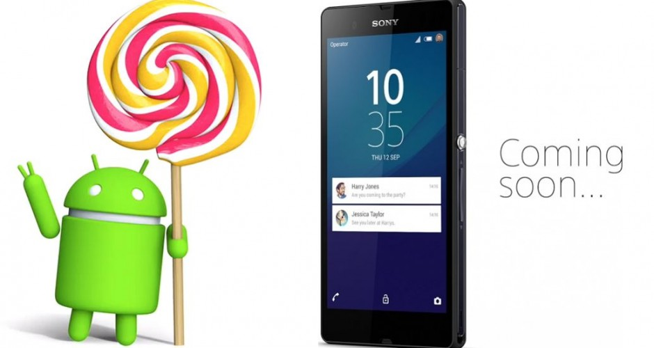 Sony confirms the arrival of Android 5.1.1 Lollipop to the range Xperia Z2 and Z3