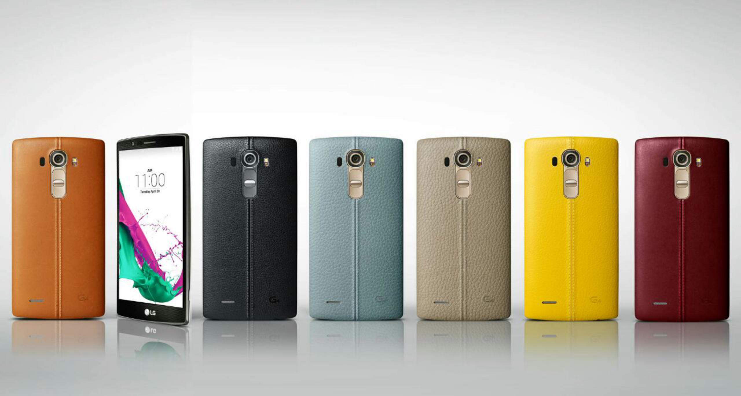 The LG G4 will be updated to Android 5.1.1 Lollipop 1