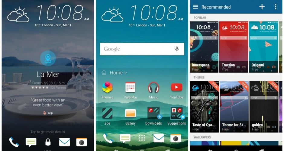 HTC One M8 não irá atualizar a Sense 7 em curto prazo