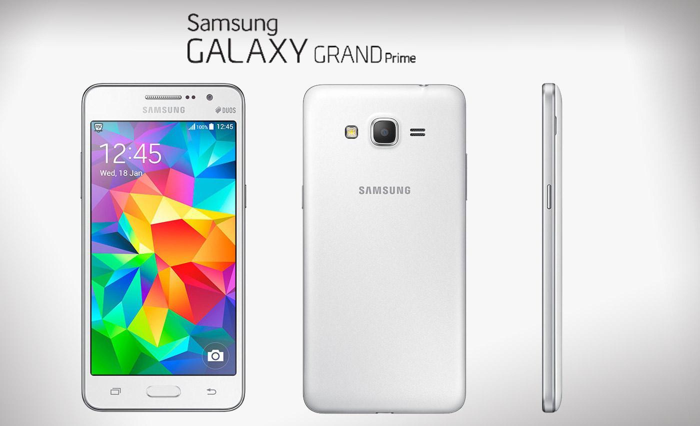 Samsung Galaxy Grande Prime começa a atualizar para o Android Lollipop 1