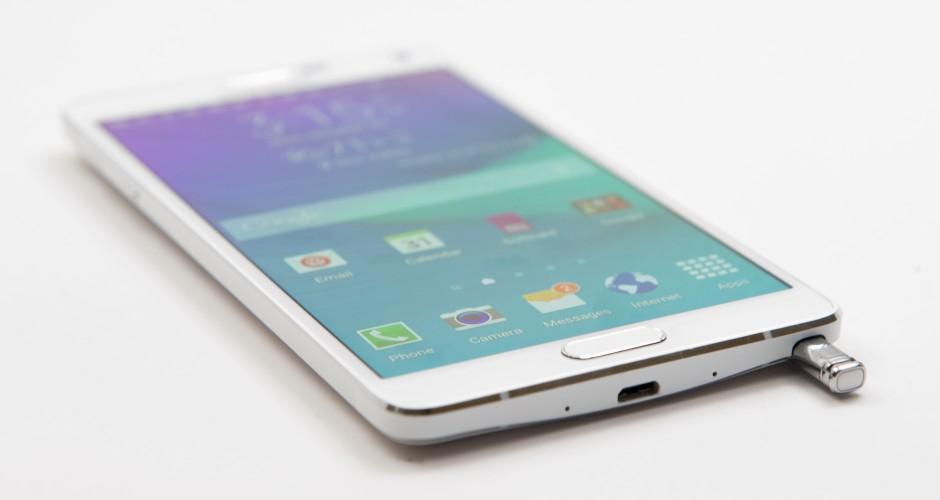 Samsung Galaxy Note 4 é atualizado para o Android 5.1.1. lollipop