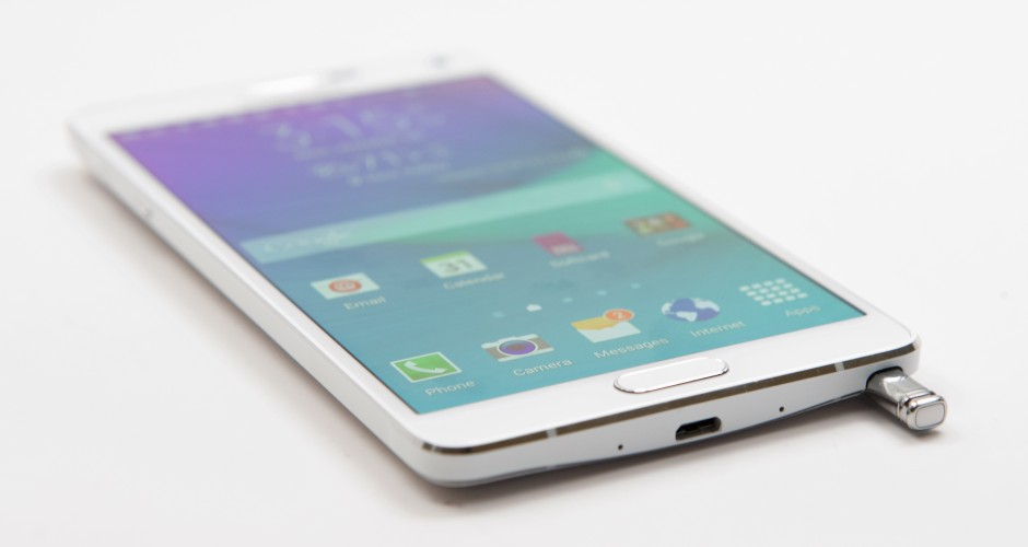 Samsung Galaxy Note 4 is updated to Android 5.1.1. Lollipop