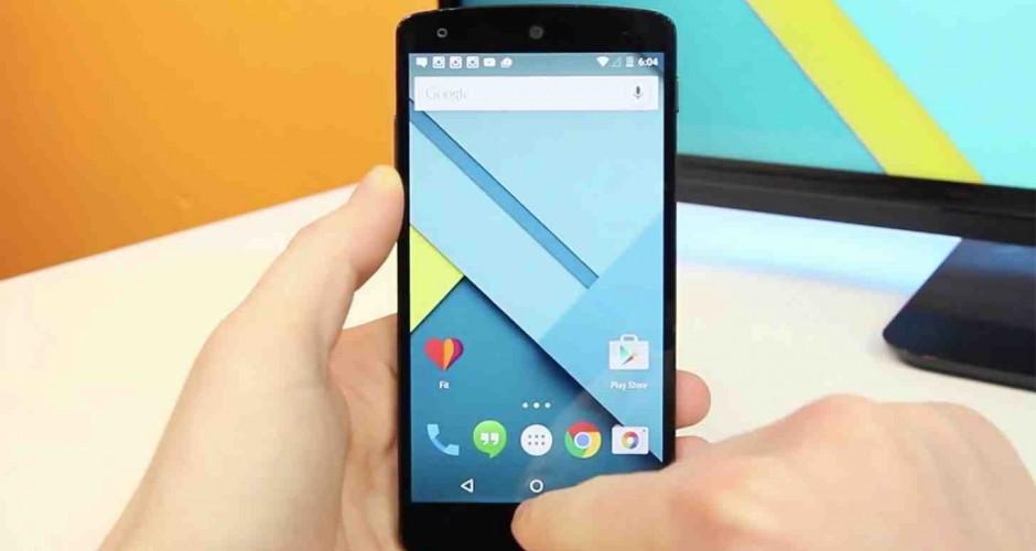 A nova atualizacao a Android 5.1.1 Lollipop para o Nexus 5 traz mais problemas
