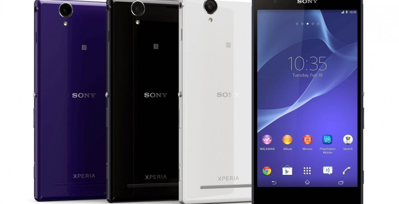 Sony actualiza los Sony Xperia Z y Xperia T2 Ultra a Android 5.1.1 Lollipop