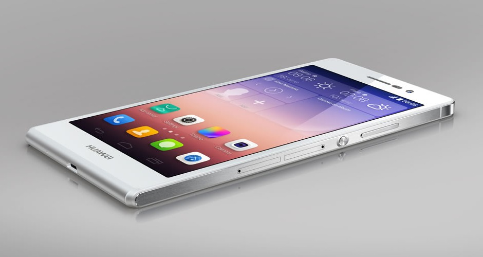 Huawei Ascend P7 is updated to Android 5.1.1 Lollipop