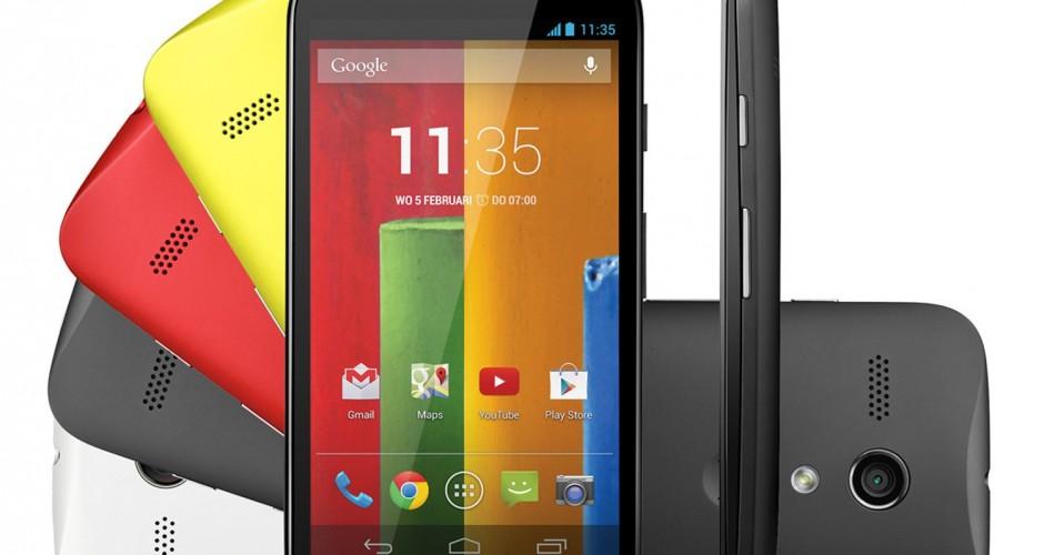 Motorola Moto G actualizado a Android 6.0 Marshmallow adelantado y disponible