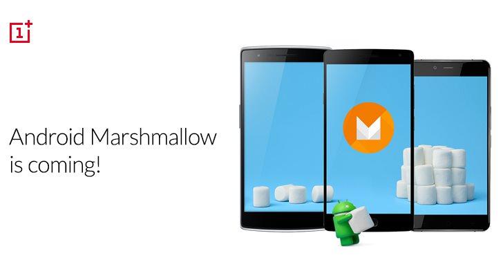 OnePlus anuncia atualizacao Android 6.0 Marshmallow OnePlus One OnePlus 2