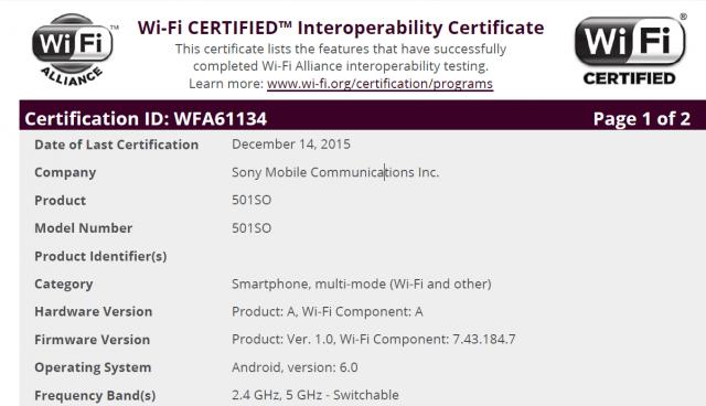 O Sony Xperia Z5 e Sony Xperia Z4 estão correndo com Android 6.0 Marshmallow
