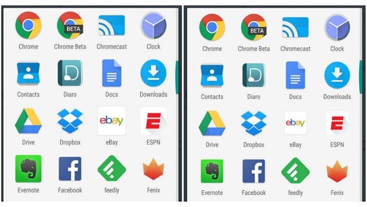 Android Marshmallow ractualizacion tamano