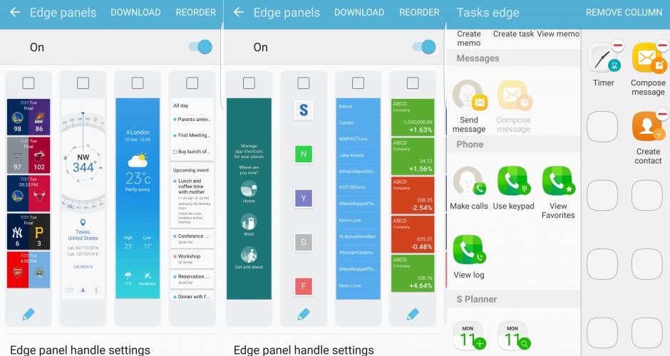 Samsung Galaxy S6 Android 6.0.1 Marshmallow en