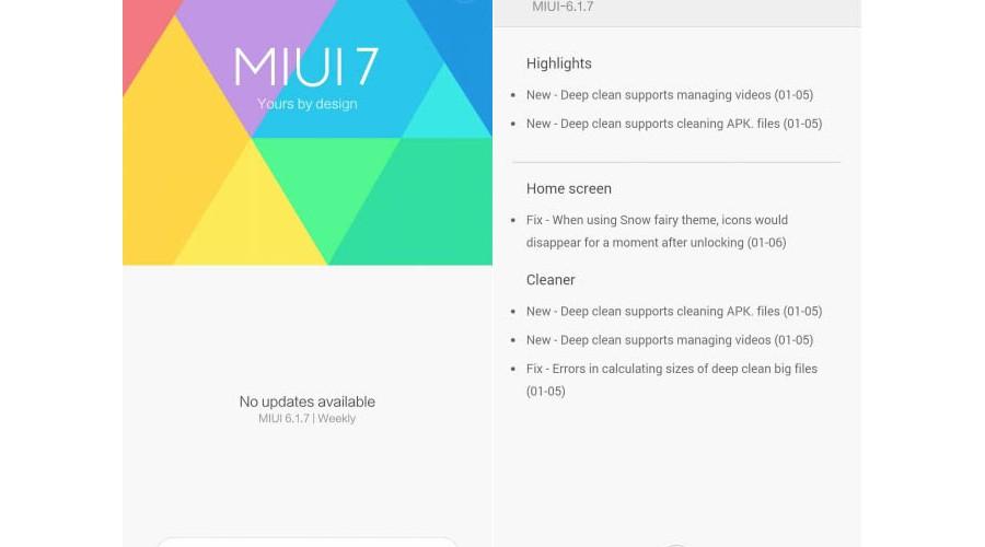 Xiaomi lanca primeira beta MIUI 7 Android 6.0 Marshmallow dispositivos compativeis
