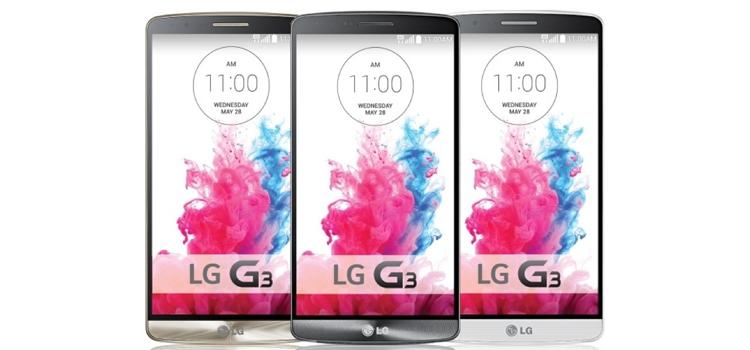Android Marshmallow LG G3 marcada 15 fevereiro