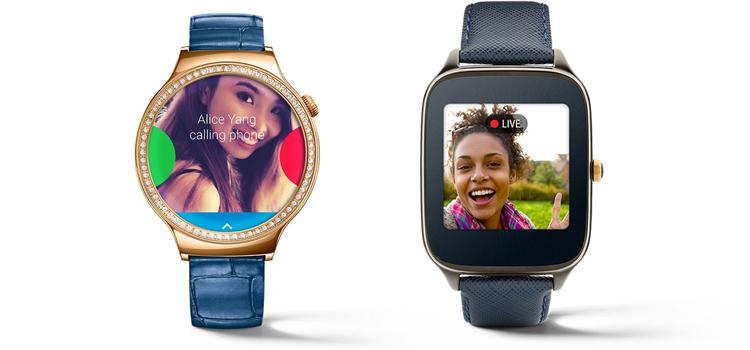 Android Wear atualizado melhora comunicacoes relógio