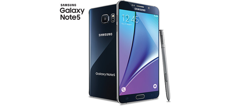 Samsung lanca Android 601 Marshmallow Galaxy Note 5