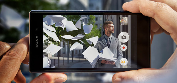 Atualizacao Concept for Android camera app Sony