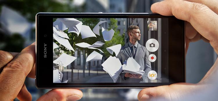 Atualizacao Concept for Android camera app Sony