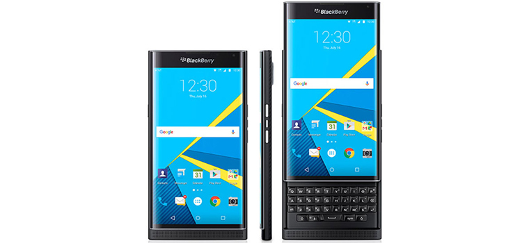 BlackBerry Priv video Android Marshmallow es